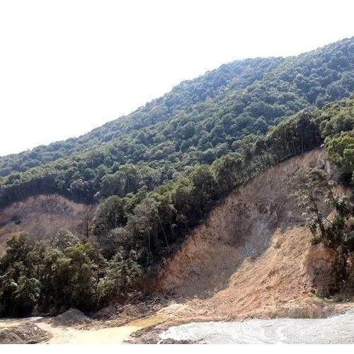 矿山开采过程